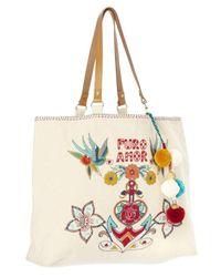 Star Mela - Multicolor Rosio Embroidered Tote - Lyst
