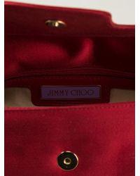 Jimmy Choo Red 'cosmo' Shoulder Bag