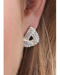 Bebe   Multicolor Mix Geo Stud Earring Set   Lyst