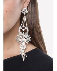 Bebe - Metallic Ornate Duster Earrings - Lyst
