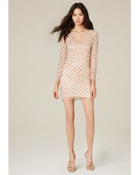 Bebe - Multicolor Rachel Embroidered Dress - Lyst