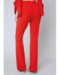 Bebe - Red Kayla Pants - Lyst