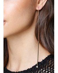 Bebe - Multicolor Drops Pull-through Earrings - Lyst
