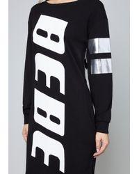 Bebe Black Logo Eleanor Tunic