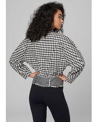 Bebe Black Dolman Crop Jacket