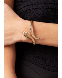 Bebe - Multicolor Snake Hinge Cuff - Lyst
