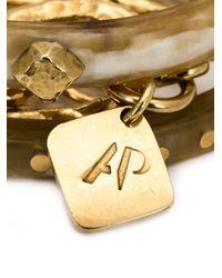 Ashley Pittman | Metallic Triple Bangle Bracelet | Lyst