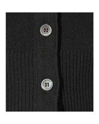 Thom Browne | Black Cashmere Cardigan | Lyst