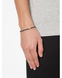 Luis Morais - Black Yin Yang Beaded Bracelet - Lyst