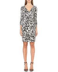 Diane von Furstenberg | Green New Julian Two Silk Wrap Dress | Lyst