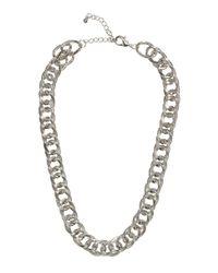 H&M Metallic Chain Necklace