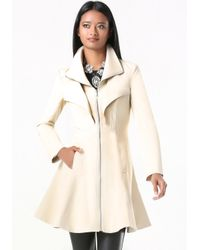 Bebe | Natural Margret Canvas Tea Coat | Lyst