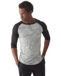 Alternative Apparel | Multicolor Big League Burnout Baseball T-shirt for Men | Lyst