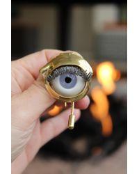 Beatriz Palacios - Multicolor Eye Brooch - Lyst