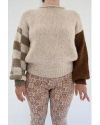 Paloma Wool Natural Suri Sweater