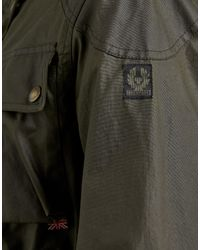 Belstaff Green Trialmaster Waxed Jacket