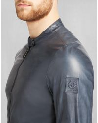 Belstaff - Gray Gransden Reversible Jacket for Men - Lyst