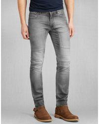 Belstaff - Gray Elmbridge Slim Fit Jeans for Men - Lyst
