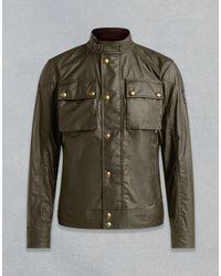 Belstaff Green Racemaster Blouson Jacket for men