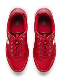 Sneakers Con Logotipo Benetton de color Red