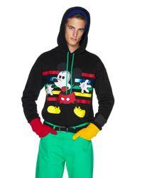 Sudadera De Mickey Con Capucha Benetton de hombre de color Black