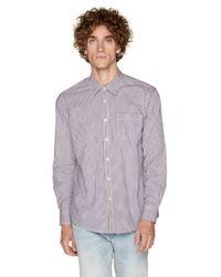 Camisa De Cuadros De Corte Estándar Benetton de hombre de color Multicolor