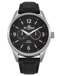 Ben Sherman - Black Carnaby Utility Watch for Men - Lyst