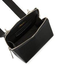 3.1 Phillip Lim - Black Ray Leather Triangle Crossbody Bag - Lyst