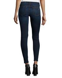 Rag & Bone Blue Low-rise Skinny Jeans