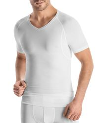 Hanro - White Urban Touch V-Neck T-Shirt for Men - Lyst