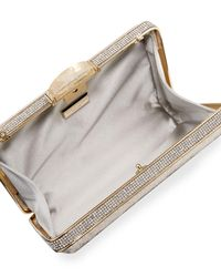 Judith Leiber Couture - Multicolor Etoile Velvet Box Clutch Bag - Lyst