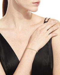 Armenta - Metallic Sueno 18k Yellow Gold Bracelet With White Diamonds - Lyst