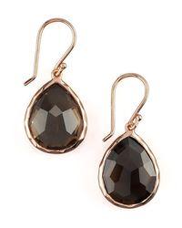 Ippolita - Metallic Rose Teardrop Earrings - Lyst
