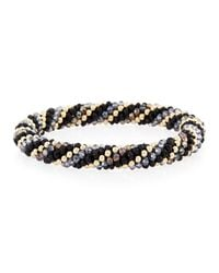 Meredith Frederick - Metallic Regina 14k Gold & Mystic Topaz Bracelet - Lyst