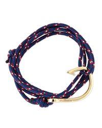 Miansai   Blue Rope Navy Bracelet   Lyst