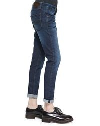 Brunello Cucinelli - Blue Dnm 5pkt Jean for Men - Lyst