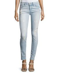 Hudson - Blue Nico Mid-rise Super Skinny Jeans - Lyst