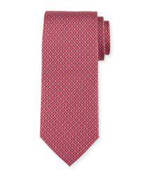 Ferragamo - Red Gancini Bit Silk Tie for Men - Lyst