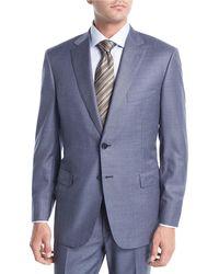 Brioni - Blue Super 150s Wool Two-piece Suit for Men - Lyst