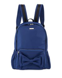 Kate Spade - Blue Girls' Back To School Nylon Backpack - Lyst
