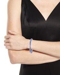 Sydney Evan - Blue Tanzanite Bead Bracelet W/ Turquoise Evil Eye - Lyst