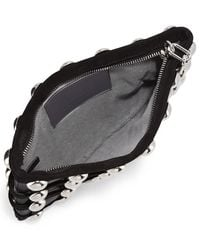 Alexander Wang - Black Roxy Dome Stud Cage Pouch Bag - Lyst