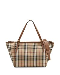 Burberry - Multicolor Horseferry Check Tote Diaper Bag - Lyst