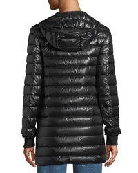 Mackage - Black Renina Two-in-one Down-filled Anorak Coat W/ Rain Shell - Lyst