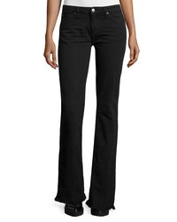 IRO | Black Freddy Flare Denim Jeans | Lyst