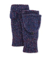 Rag & Bone Blue Cheryl Convertible Knit Mittens