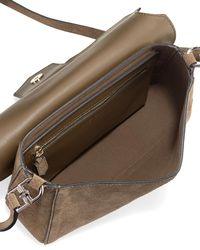 Givenchy - Black Nobile Small Suede Shoulder Bag - Lyst