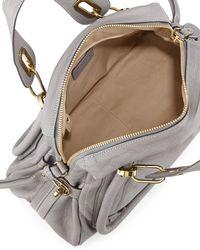 Chloé - Gray Marcie Satchel Bag - Lyst
