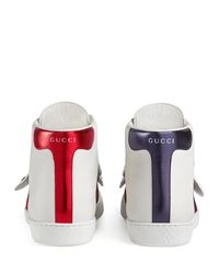 Gucci White Ace Sneaker With Removable Patches
