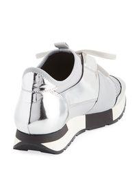 Balenciaga Classic Metallic Runner Sneakers